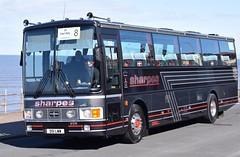 D51LWW  Sharpes, Nottingham (highlandreiver) Tags: nottingham bus volvo coach rally lancashire van blackpool coaches lww hool alizee d51 sharpes b10m d51lww