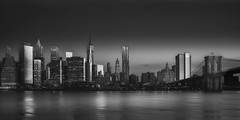 Awakening Shadows V (Terp's ~ R. Terpolilli) Tags: nyc longexposure manhattan cityscapes eastriver fineartphotography blackandwhitefineartphotography