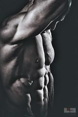 Matze K 04-5 (tschischek) Tags: gay boy man male men sport studio naked nude nikon akt body muscle hard dramatic passion flashlight strong shooting mann bodybuilder fitness drama sporty jinbei d610 fitnessmodel