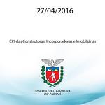 CPI das Construtoras, Incorporadoras e Imobili�rias