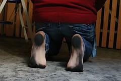 dirty party feet 562 (dirtyfeet6811) Tags: feet barefoot soles dirtyfeet dirtysoles blacksoles