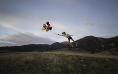 Floating away (jrountree333) Tags: mountains field balloons fly nikon montana bozeman msu float levitate