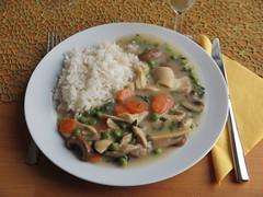 Hhnerfrikass (multipel_bleiben) Tags: essen pilze gemse geflgel eintopf typischdeutsch