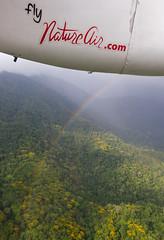 Somewhere over a rainbow, Puntarenas, Costa Rica (maxunterwegs) Tags: arcoiris plane rainbow costarica aerial jungle arcoris aerialphoto avio flugzeug avin puntarenas let avion regenbogen arcenciel quepos luftbild dschungel luftaufnahme l410 natureair aerialimage letl410 letl410uvp l410uvpe20 letl410uvpe20 tibgo