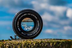 Beach (SteveW@aps) Tags: beach lens sussex worthing throughthelens