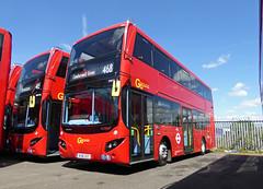GAL MHV18 - BU16OZC - NSF - BV BELVEDERE BUS GARAGE - THUR 28TH APR 2016 (Bexleybus) Tags: new bus london buses ahead volvo garage go egyptian belvedere bv etb mcv goahead evoseti mhv18 bu16ozc