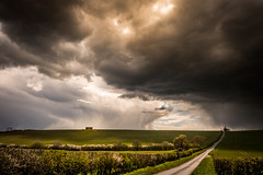 A Storm's Brewing (Andy T Whittaker) Tags: york storm nature rain clouds landscape outdoors yorkshire hills fields drama howardianhills howardian
