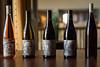 Rune Wines Line-Up (EvanJawnson) Tags: arizona 50mm restaurant nikon wine restaurants winetasting labels wilcox dining tasting nikkor chandler progression syrah finedining vino lineup winelabel wines grenache d7100