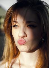 Kiss Kiss (Wes Baker : Photographer) Tags: shadow portrait portraits photography baker shadows wes