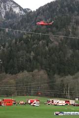 waldbrand_biwi_069 (bayernwelle) Tags: radio bayern berchtesgaden rettung feuerwehr hubschrauber untersberg waldbrand bergwacht einsatz lschen bischofswiesen winkl bayernwelle hallturm