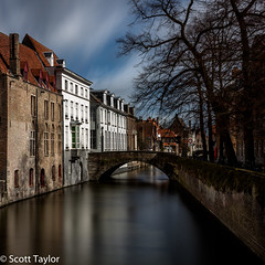 Brugge Canal #1 (Scrufftie) Tags: longexposure travel canon canal europe belgium brugge bruges lightroom gitzotripod canonef24105mmf4lisusm formatthitechfilters photoshopcc canon5dsr formatthitech13stopsfirecrestndfilter