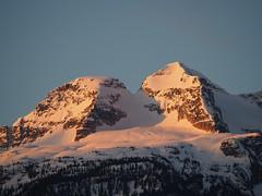 Mt Begbie, Revelstoke B.C. (urbanworkbench) Tags: mountain snow mountains sunrise bc glacier revelstoke alpenglow explorebc seerevelstoke