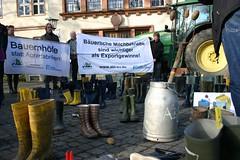 Schwerin_02 (aktionagrar) Tags: landwirtschaft aktion milch whes agrar preise schwerin abl farmsaver