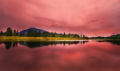 Red Sunrise (Ratul Mukherjee Photography) Tags: travel mountain reflection nature sunrise landscape grandteton waterscape