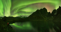 Aurora night in the mighty Yukon (VictorLiu Photography) Tags: night yukon aurora northernlights