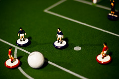 subbuteo (gionisign) Tags: red green football team play soccer match subbuteo zeugo