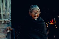 MARYMIT LEPCHA (Marvin Jonah Lepcha) Tags: old portrait candid oldlady granny nepali