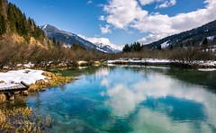 Zelenci (pietkagab) Tags: trip travel lake mountains alps nature water trekking river landscape photography europe pentax adventure slovenia k5 sava waterscape zelenci pentaxk5ii pietkagab piotrgaborek