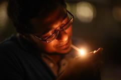 Caress the LIGHT (N A Y E E M) Tags: light drunk fire hotel raw availablelight cigarette midnight unposed untouched bangladesh lastnight unedited chittagong farhaan explored sooc radissonblu aashiqdj baikalbar