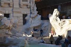 The Quiet Side Of The Trevi Fountain (Joe Shlabotnik) Tags: italy rome roma fountain italia trevifountain 2016 afsdxvrzoomnikkor18105mmf3556ged march2016