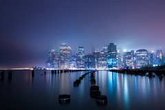 New York, New York (BrendanBannister) Tags: new york city lines buildings square long exposure time manhatten leading