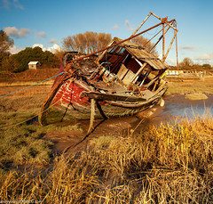 Sheldrakes (8 of 13) (andyyoung37) Tags: uk longexposure sunset england unitedkingdom gb merseyside heswall boatwreck thewirral sheldrakes westvale