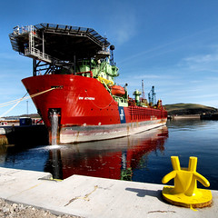 The BW Athena (ccgd) Tags: boats scotland rig oil cromarty tugs vessels firth fpso cfpa