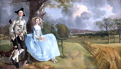 IMG_1556BE Thomas Gainsborough. 1727-1788. Londres. Mr and Mrs Andrews. vers 1750.    Londres National Gallery (jean louis mazieres) Tags: greatbritain london museum painting unitedkingdom muse londres museo peintures gainsborough peintres grandebretagne nationalgallerythomas