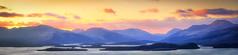 Duncryne pano (ABel-Photo) Tags: sunset scotland highland loch lomond
