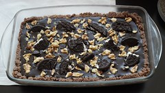 No bake oreo tart (ayca-san) Tags: chocolate sony oreo tart bitter darkchocolate a7s