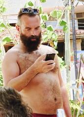 IMG_0823 (danimaniacs) Tags: shirtless man sexy guy beard mexico hunk puertovallarta stud scruff bodyhair