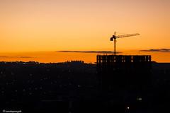 Cu de outono (ricardoyamazaki) Tags: sunset sky orange cold building cu pr prdio frio outono londrina