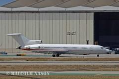 B727-223 N289MT RAYTHEON E-SYSTEMS (shanairpic) Tags: losangeles lax raytheon b727 boeing727 jetairliner n289mt