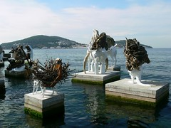 The Most Beautiful of All Mothers #07 (gallmese) Tags: sea sculpture art turkey trkiye istanbul trkorszg organic biennale inorganic bykada isztambul seaofmarmara adalar princeislands marmaradenizi bienial adrinvillarrojas themostbeautifulofallmothers