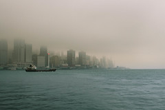 Leaving Victoria Harbour (mark-siem) Tags: hongkong harbor ship harbour victoriaharbour victoriaharbor