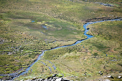 Micro-macro (afloden) Tags: norway no fromabove troms elv ovenfra kfjord