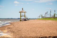Playa Grande (LeoNardo 316) Tags: argentina playa entrerios mirador rocas piedras federacion playagrande guardavidas