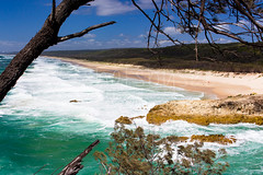 Main Beach and South Gorge (shotsbysez) Tags: ocean beach landscape island waves northstradbrokeisland