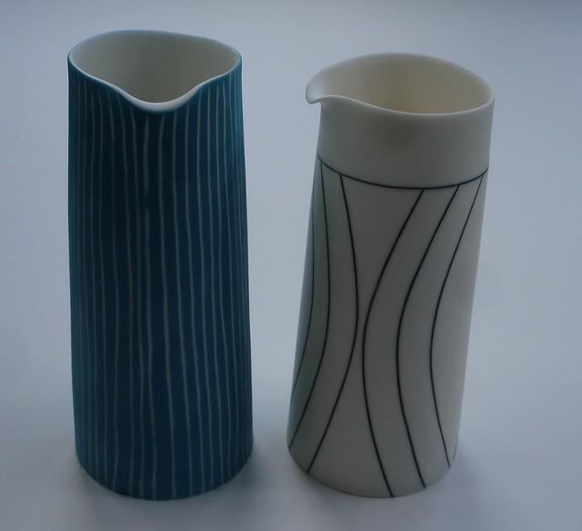 Scobie Lara' Pair of Jugs'
