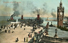 The pier at Douglas (mgjefferies) Tags: holiday ferry pier stacey steam douglas isleofman 1908 victoriapier paddlesteamers valentinesons