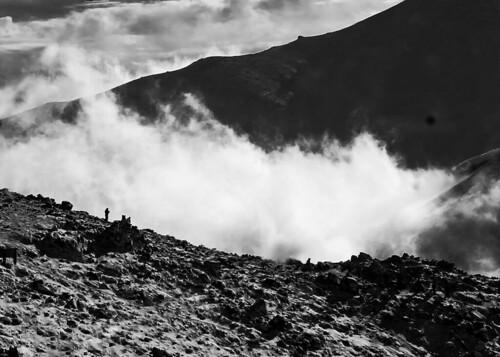 Ganjnameh mountain