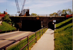 Old Subway, Highway 51, Modern Color Photo