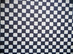 Japanese fabric paper 4 (tengds) Tags: white black checks japanesepaper chiyogami checkeredpattern fabricpaper tengds