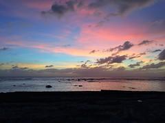(kemeticrayashi) Tags: ocean sunset sun beach solar pacific guam sunporn earthporn