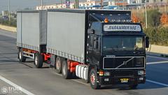 Volvo F16 - Papadopoulos (Avramidis_Alex) Tags: truck volvo curtain hellas f16 greece lorry camion gr intercooler lkw  drawbar curtainsider