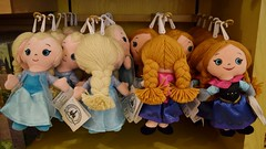 Disneyland Visit - 2016-01-17 - World of Disney - Princess Dept. - Small Plush - Closeup of Elsa and Anna (drj1828) Tags: california anna frozen doll princess disneyland small visit disney plush anaheim dlr elsa ragdoll downtowndisney 2016 worldofdisney disneyparks