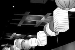Lanterns (sally_tregear) Tags: summer people blackandwhite streets festival melbourne celebrations chinesenewyear2016