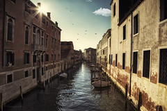epoch of ecstasy (cherryspicks) Tags: city travel venice light urban italy sun building water sunshine architecture boats canal day shadows outdoor fineart historic daytime watercourse epoch fondamentanuove
