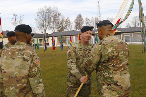 U.S. Army Africa Change of Responsibility 2016