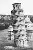 Leaning Miniature Tower in Shenzhen (Linus Wärn) Tags: china blackandwhite bw monochrome miniature blackwhite model asia pisa guangdong shenzhen leaningtower themepark windowoftheworld